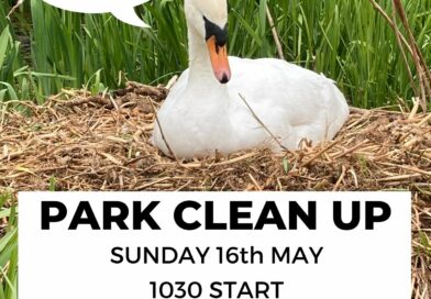 CLEAN UP – Sunday 16th May 10am